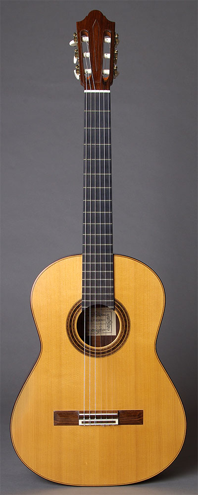 Daniel Friederich 1971 Spruce top