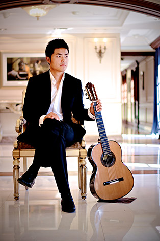 Fan Ye Guitar Shanghai Voigt classical guitar China asia Chinese