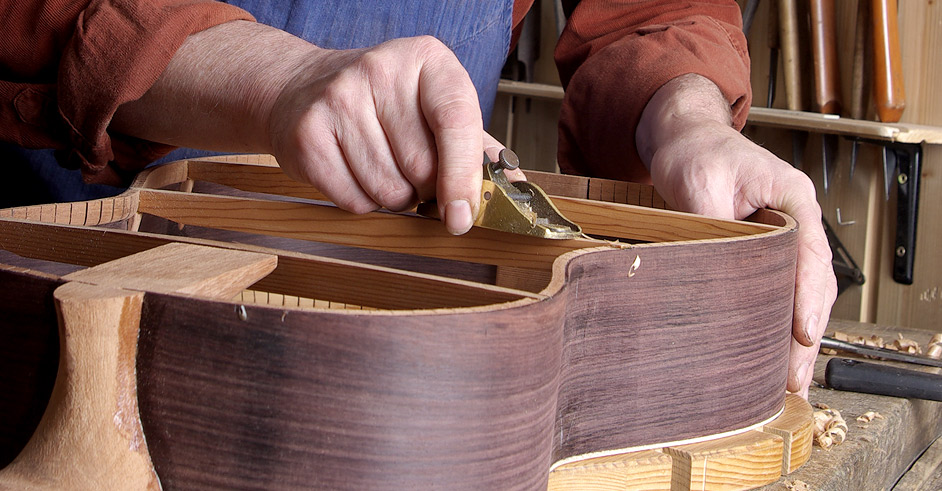 guitar making - Voigt Luthiers