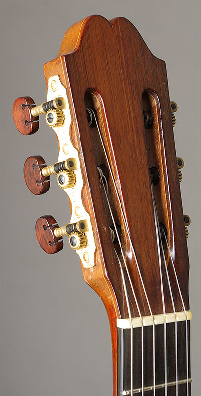 Robert Bouchet 1950 Headstock