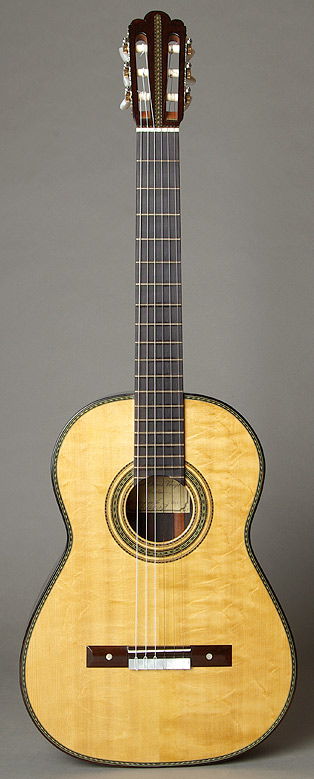 "Voigt Torres-Modell ""Adelita"" with bearclaw spruce top"