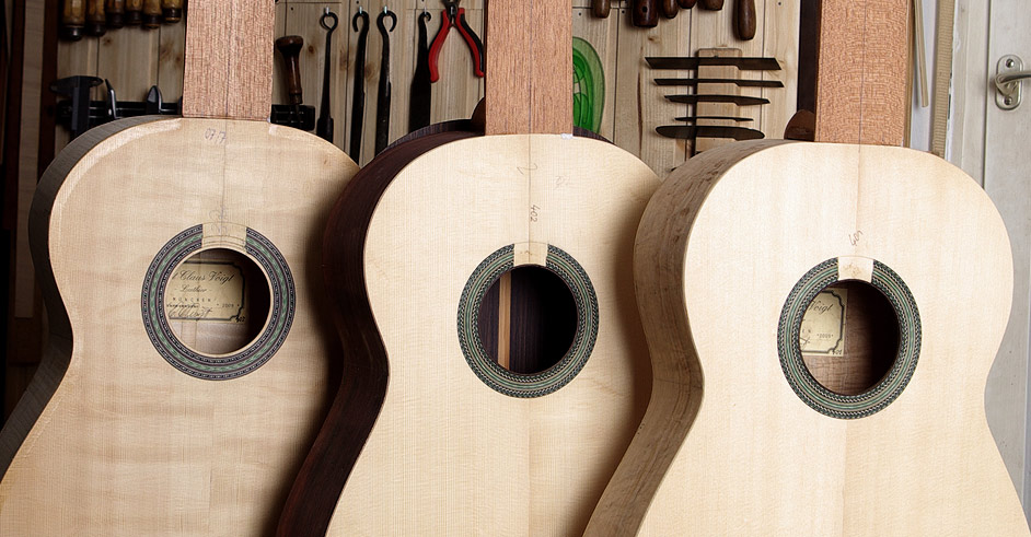 Voigt Luthiers - guitar making