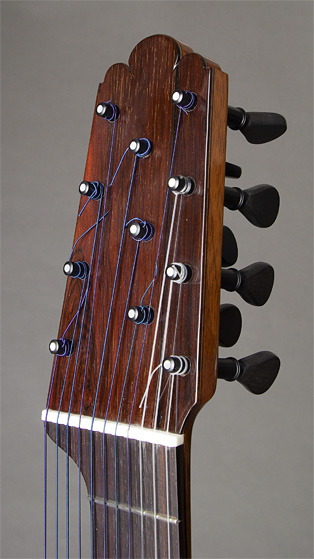Headstock with pegheds